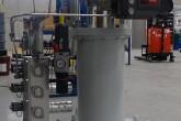 Pneumatic actuator with manifold set-up