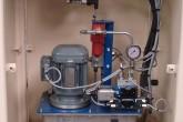 Hydraulikpresse zum Pressen von Platten Trespa